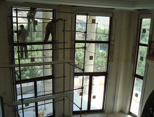 پنجره های دوجداره چوبی